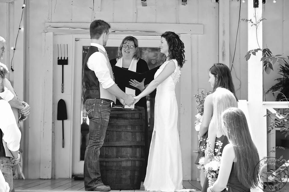 bw happy vows